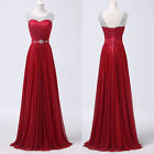 XMAS FIT Celebrity New Formal Long Ball Gown Party Prom Bridesmaid Evening Dress