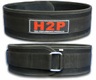 Black Weight Lifting Belt Gym Training Back Support Power Lumber support rrp £20