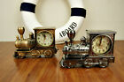 Vintage Train Engine Style Locomotive Alarm Clock Novelty Xmas Gift Alarm Clock
