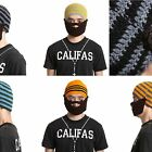 Men's Knitted Crochet Beard Hat Beanie Mustache Face Mask Warm handmade Ski Cap