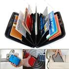 New Waterproof Aluminum Metal Business ID Credit Card Wallet Holder Case Purse