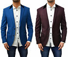 Mens Designer Marc Darcy Blazer Smart Casual Regular Fit Suit Coat Aaron Jacket