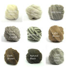 Heidifeathers Natural Felting Wool , Wool Tops - Felting + Spinning - You Choose