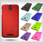 Hard Rubberized Plastic Matte Back Cover Snap-On Case for HTC Desire 510