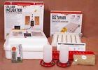 Little Giant Egg Incubator 9300 w Fan | Turner | Candler | Feeder Kit - Goose