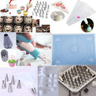 Icing Pastry Piping Bags Nozzles Cupcake Tips Cake Sugarcraft Decorating Tool #M