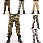 New Men's Military Army Fatigue Camouflage Camo Combat Cargo Wrok Pants Trousers