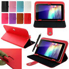 "Magic Leather Case Cover +Stylus For RCA 7"" 7 Inch Android Tablet PC"