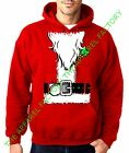 Santa Claus Costume Red Hoodie Sweatshirt Outfit Funny Ugly Christmas Sweater