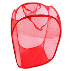 Foldable Pop Up Washing Laundry Basket Bag Bin Hamper Storage + Shopping Bag R