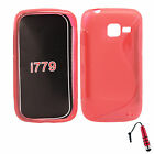 S-Line Wave TPU Soft Case Skin Cover For Samsung Galaxy i779 +Stylus R
