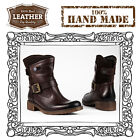 Womens Ladies Shoes Boots 100% Real Authentic Hand Made Leather Seattle Design