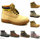 WOMENS CATERPILLAR CAT COLORADO PLUS LEATHER CLASSIC WALKING BOOTS SIZES 3-8 NEW