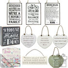 Vintage Signs Wall Plaques Hanging Shabby Chic Cool Retro Sayings Home Kitchen