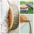 New Creative Natural Woods Design Soft Chair Cushion Pillows Gift Home Sofa -W