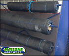 100g 1.5M Wide Ground Fabric Weed Control Ground Cover Membrane Landscape Fabric
