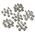 10pcs M4/5/6/8/10/12 304 Stainless Steel Metric Hex Flange Nuts Bolts & Screws