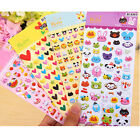 Kawaii Cartoon Heart Animal Bubble Sticker Crafts Deco Diary Ablum Scrapbook