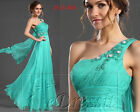 Carlyna eDressit New Blue One Strap Blue Evening Prom Dress Formal Gown UK 8-20