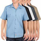 Men's work Shirts Dickies Premium Industrial Short Sleeve Shirt LL535 colors