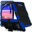 Shockproof Dual Layer Heavy Duty Case Cover & Stand For Huawei Ascend Y550