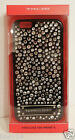 ihone 6 Case Victoria's Secret Black-Clear Bling Crystals hard Case NEW