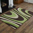 NEW CHOC BROWN GREEN CREAM CURLY SMALL MEDIUM LARGE EXTRA LARGE CHEAP SOFT RUGS