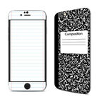 iPhone 6/6S Skin - Composition Notebook - Sticker Decal