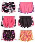 NWT Justice Girls Neon Leopard Zebra Running Athletic Shorts UPick Size NEW