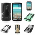 TPU Skin and Hard Plastic Dual Layer Hybrid Armored Case Cover  for LG G3 (2014)