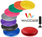 WACCES Fitness Stability Air Cushion Balance Wobble Disc With Pump 9 COLORS image