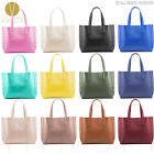 REAL GENUINE LEATHER LARGE TOTE SHOPPER BAG Womens Designer Shoulder Handbag