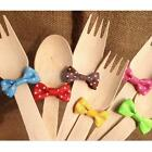 20x Colorful Metallic Twist Wire Tie Bowknot Gift Candy Cookie Cake Cello Party
