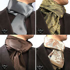 Brand New Mens Smart Cashmere Silk Italian 100% Warm Soft Scarf Double Sale On!