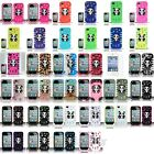 For iPhone 4 4S Panda Bear Hard Hybrid Soft Dual Layer Case Cover+Film Guard