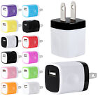 1A USB Power Adapter AC Home Wall Charger US Plug FOR iPhone 5 5S 6 Samsung Lot