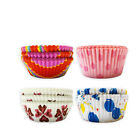 Pack of 100 Cup Cake, Fairy Cake & Muffin Cases in Fancy Assorted Designs