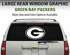 Green Bay Packers Window Decal Graphic Sticker Car Truck SUV - Choose Size $18.95 USD on eBay