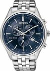 Citizen Japan Eco-Drive Blue Chronograph Sapphire 100m Men's Watch AT2140-55L