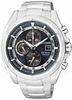 Citizen Eco-Drive Chrono Titanium Sapphire Japan Watch CA0550-87L CA0551-50L