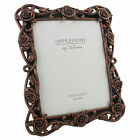 "CLASSICAL BRONZE RESIN PHOTO FRAMES 6 X 4""/  5 X 7 ""/ 8 X 10 "" SIZES HOME DECOR"