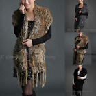 Wholesale Faux Fur Vest Genuine Fox Fur Hat Fashion Rabbit Fur Scarf Shawl Tops