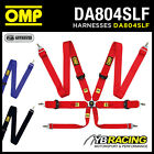DA804SLF OMP 804SLF RACING 6-POINT HARNESS ULTRA LIGHTWEIGHT for MOTORSPORT USE