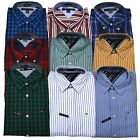 Tommy Hilfiger Mens Custom Fit Buttondown Shirt Long Sleeve Dress Th Logo New