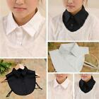 Women's Fashion Vintage Detachable Cotton shirt Choker Decor Tops Shirt Collar