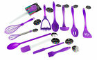 """Brights"" Purple Silicone Kitchen Utensils - All You Need For The Kitchen"