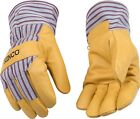 Kinco 1927 LINED PIGSKIN LEATHER Mens Work Gloves winter cold garden Y-XXL