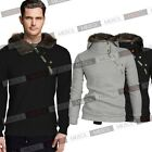 Mens Long Sleeves Warm Pullover Hooded Sweatshirt Coats Jackets Outwears SMXL2XL
