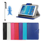 Universal Leather Cover Case For Alcatel OneTouch POP 7 Tablet +Pen 268shop