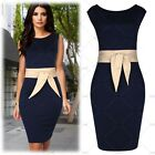 New Blue Womens Summer Casual Sleeveless Party Evening Cocktail Short Mini Dress